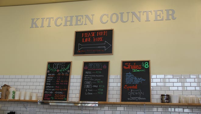 The Kitchen Counter opened on Court Street June 12 with muffins, soups and salads.