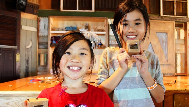 Maker activities allow kids to use their own creativity to design and build.