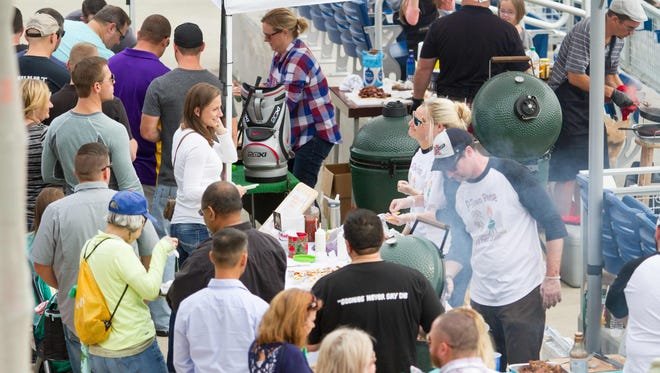 """More than 100 """"EggChefs"""" will participates in this year's Pensacola EggFest on Sunday."""