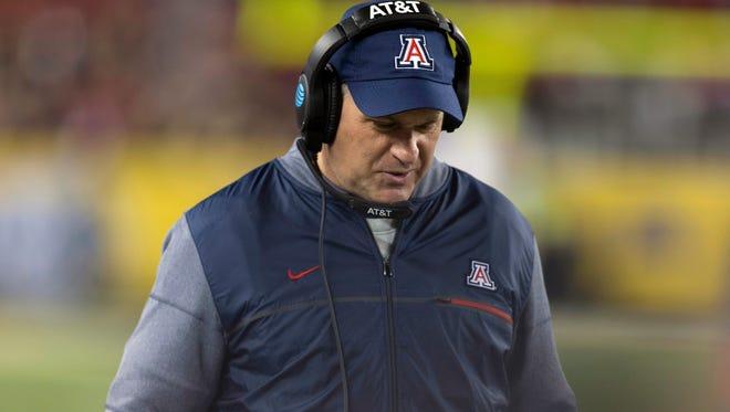Rich Rodriguez is no longer the Arizona Wildcats football coach.