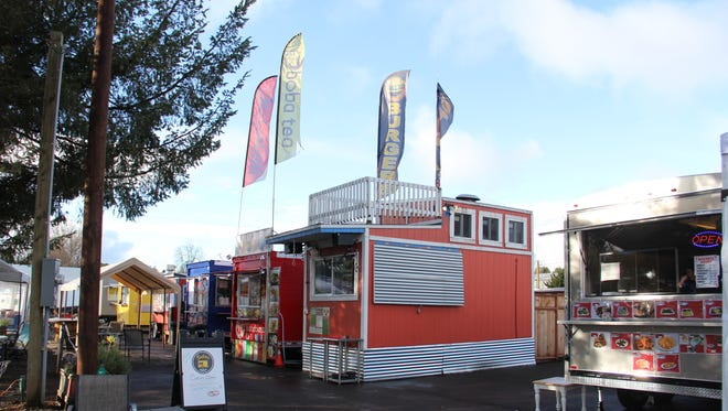 Beehive Station has opened new food trucks this winter, including KBW Mediterranean. Lottie's Pad Thai, formerly in Portland, will open at the pod this winter, as well.
