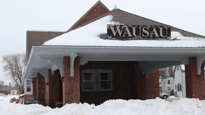 The old Wausau train depot will be the home of the Central Time distilley.