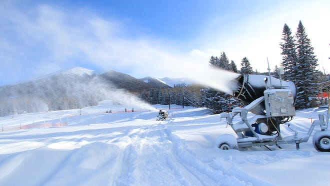 Established in 1938, Arizona Snowbowl will be celebrating its 80th anniversary this season. The ski area uses treated wastewater to make snow, which has caused an ongoing legal battle with members of the Hopi Tribe.