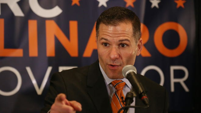 Dutchess County Executive Marc Molinaro  announces last month that he will run for governor.