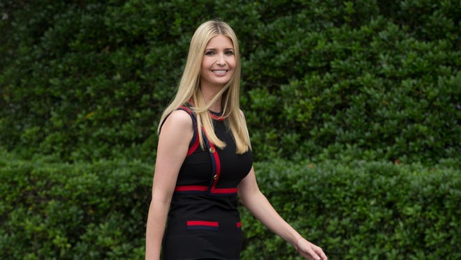 Ivanka Trump attends the White House Sports and Fitness Day at the South Lawn of the White House in Washington, D.C., May 30, 2018.