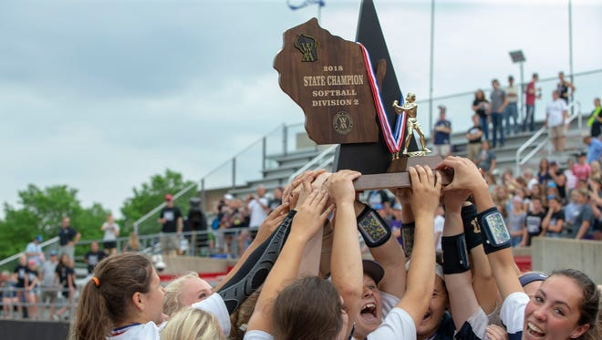 Whitnall its WIAA Division 2 state championship after its 3-1 victory over Mosinee on Saturday.