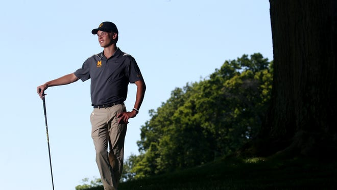 Competition is nothing new for McQuaid's Jack Bailey. A triplet, he finished third at the state tournament and is the All-Greater Rochester Golfer of the Year.