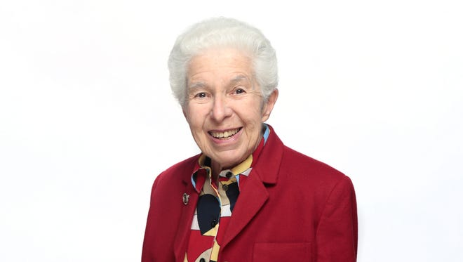 Sister Paula González, a founding member of Ohio Interfaith Power and Light, retired teacher at Mount St. Joseph University and volunteer for the Archdiocese of Cincinnati Catholic Climate Change Task Force.