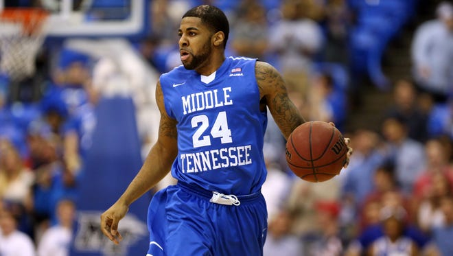 Former MTSU basketball player Kerry Hammonds.