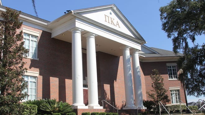 The Florida State University Pi Kappa Alpha fraternity house.