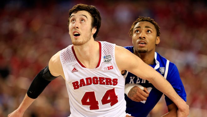 Wisconsin senior Frank Kaminsky helps make the Badgers' frontcourt one of the nation's best.