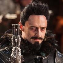 "Hugh Jackman's Blackbeard is the main villain in ""Peter Pan."""