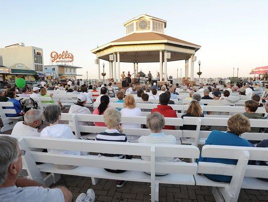 The Rehoboth Beach Bandstand summer entertainment series