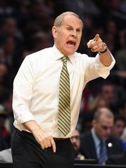 Michigan coach John Beilein started his coaching career