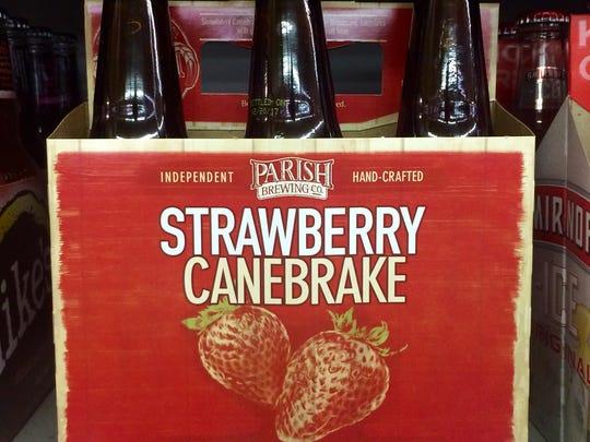 Parish's Strawberry Canebrake is new this year, adding