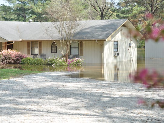 More rapides homes to flood this week than last summer House of flowers alexandria la