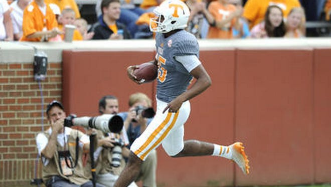 Quarterback-turned-receiver Jauan Jennings is adjusting nicely to his new position.