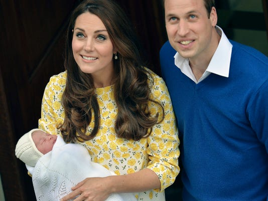 Prince William stands close to Kate, Duchess of Cambridge