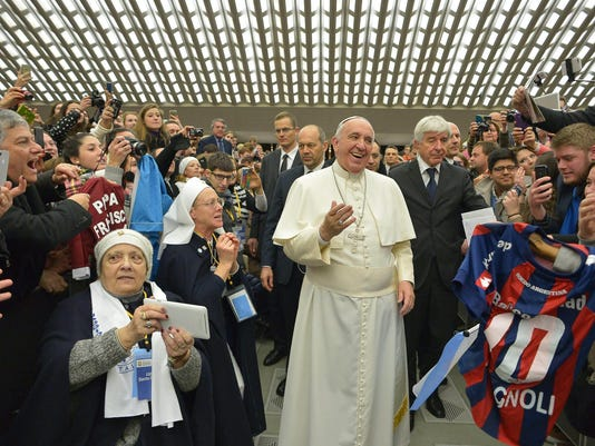 Pope says spanking OK with conditions