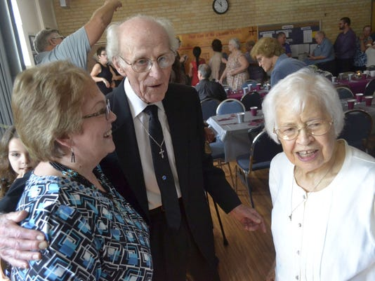 70th wedding anniversary at church photo 1