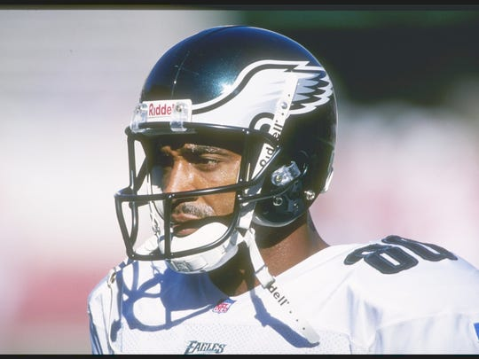 Wide receiver Irving Fryar of the Philadelphia Eagles