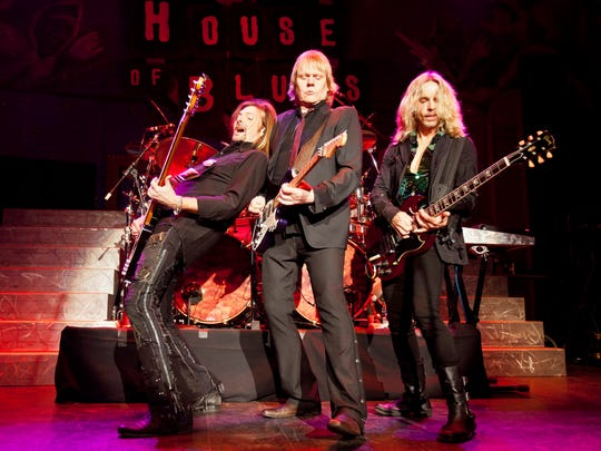Styx performs at Burlington's Steamboat Days music festival June 16-19.