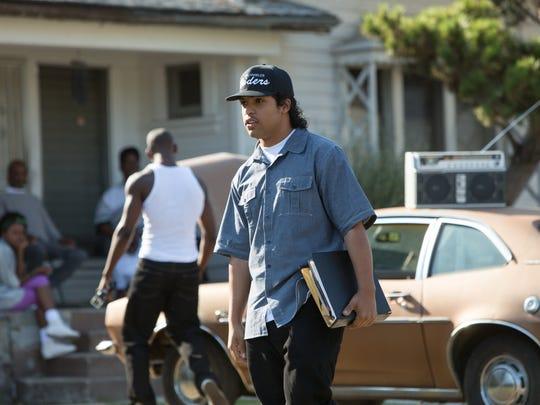 Ice Cube (O'Shea Jackson Jr.)  in 'Straight Outta Compton,'