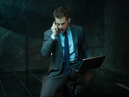 """Jack Ryan continued aging backwards in """"Shadow Recruit,"""" a 2014 film that replaced Ben Affleck with """"Star Trek"""" star Chris Pine."""