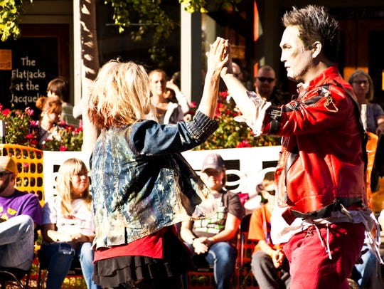 If you've enjoyed watching Thriller on C-Street performances, take it up a notch and join the C-Street Zombie Corps to become part of the performance.