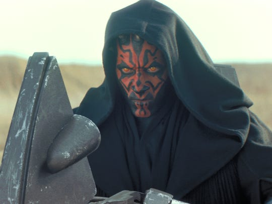 Ray Park played Darth Maul in his short-lived stint