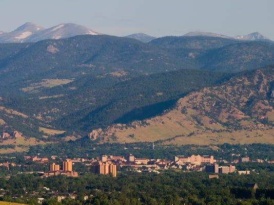 Boulder in the Morning