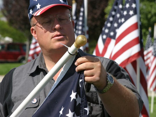 Paul Swenson is the owner of Colonial Flag in Sandy.