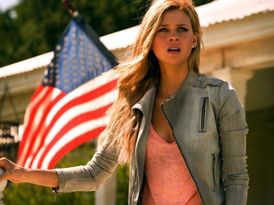 "Nicola Peltz plays Tessa Yeager in a scene  ""Transformers:"