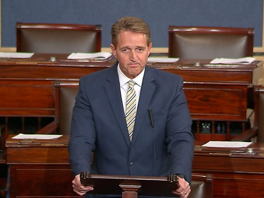 Jeff Flake speech