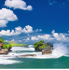 One of the swag bag gifts is a trip to Bali. Yes, bali.
