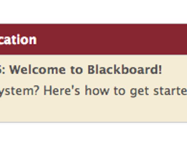 The Almanac - Blackboard/FSU Portal Hacks