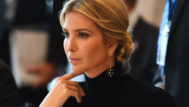 Ivanka Trump, daughter and adviser to the President. Credit: Don Emmert, AFP/Getty Images