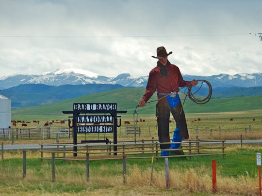 Along the Cowboy Trail, fuel up on beef jerky and browse for classic and contemporary Western art
