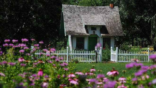 The cottage at McCrory Gardens in Brookings is one of the most photographed spots.