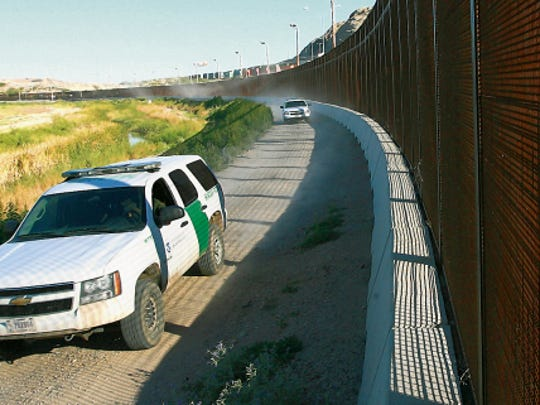 Border Patrol vehicles constantly ride along the border fence near the Asarco area. U.S. Customs and Border Protection, the largest law enforcement agency in the country which has a large presence in El Paso, is vulnerable to corruption, lacks transparency and has to create stronger rules to prevent excessive use-of-force incidents, an initial report found.