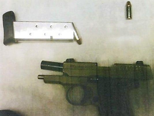 gun recovered at Buffalo airport
