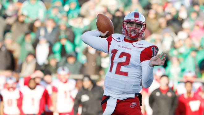 Western Kentucky quarterback Brandon Doughty threw for 4,344 yards and 44 TDs.