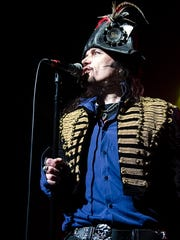 Adam Ant onstage in Tucson.