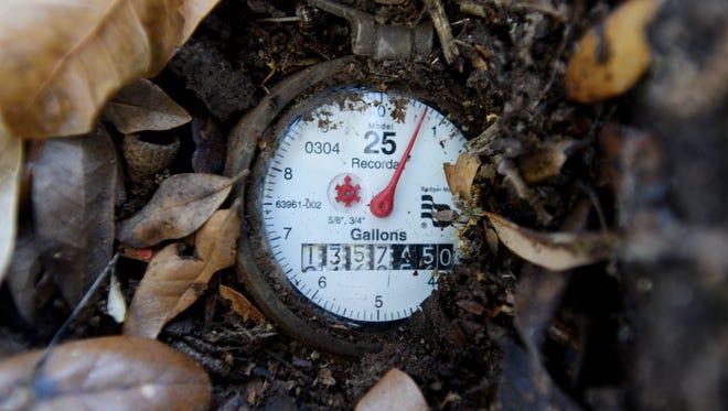 A water meter in Shreveport.