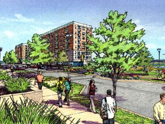 Gray's Station, a proposed 75-acre neighborhood on