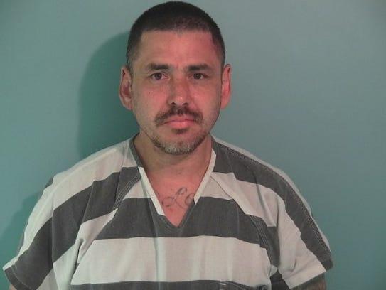 John Molina, 46, of Dallas, was arrested on methamphetamine