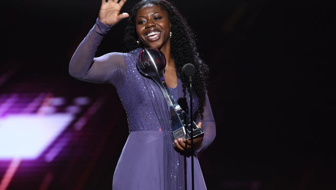 Arike Ogunbowale won Best Play for her buzzer-beater to win the national championship for Notre Dame.