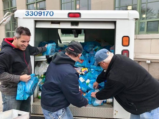 Letter carriers collected more than 71 million pounds of food during its 2018 Stamp Out Hunger food drive.