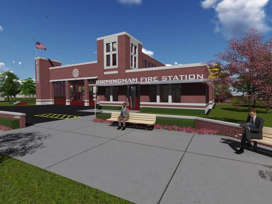 BHM fire station