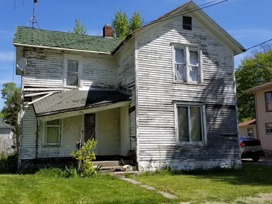 This house at 106 Everett St. E. in Homer Village will be demolished this year.